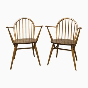Windsor 370A Dining Chairs by Lucian Ercolani, 1960s, Set of 2