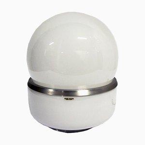 Tischlampe aus Opalglas von Stilux Milano, 1960er