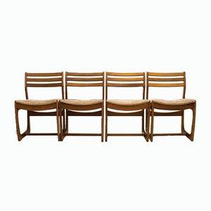 Chaises de Salon Range en Teck de Portwood, Danemark, 1960s, Set de 4
