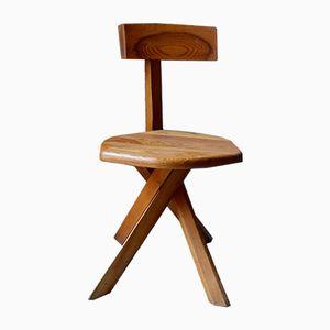 Vintage S34 Stuhl von Pierre Chapo, 1960er