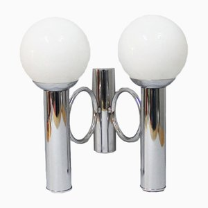 Vintage Sconce with Spherical Diffusers, 1960s