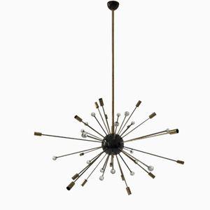 32-Armige Sputnik Hängelampe von Stilnovo