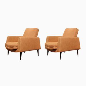 Italian Armchairs, 1960s, Set of 2