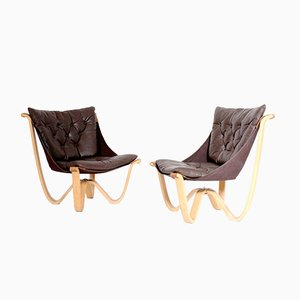 Scandinavian Chairs by Georg Thams, 1970s, Set of 2