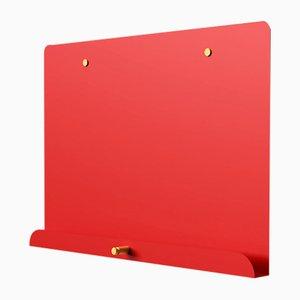 Rotes magnetisches LDF Myosotis Notizbrett von Richard Bell für Psalt Design, 2012