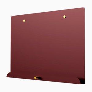Kastanienbraunes magnetisches LDF Myosotis Notizbrett von Richard Bell für Psalt Design, 2012