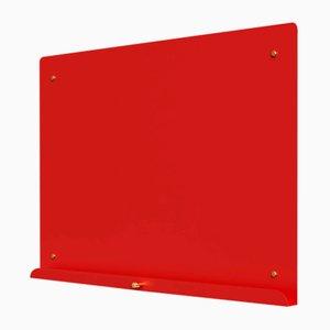 LDF Red Myosotis Grande Magnetic Notice Board by Richard Bell for Psalt Design, 2014