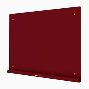 Maroon Myosotis Grande Magnetic Notice Board by Richard Bell for Psalt Design, 2014