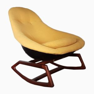 Mid-Century Gemini Rocking Chair by Walter S. Chenery for Lurashell