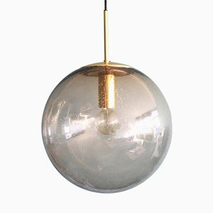 Large Brass Globe Pendant from Limburg, 1970s
