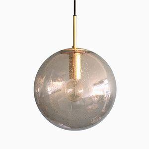 Large Brass Globe Pendant from Limburg, 1970s