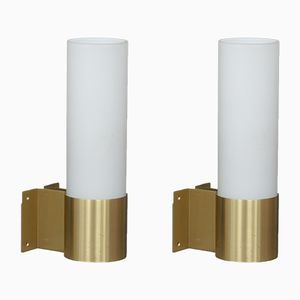 Wall Sconces by Jørgen Bo for Fog & Mørup, 1968, Set of 2