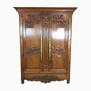 19th Century Wardrobe in Blond Oak