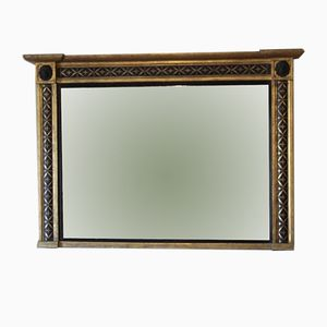 Large 19th Century Overmantel Mirror