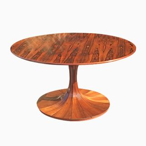 Rosewood Clessidra Dining Table by Luigi Massoni, 1950s