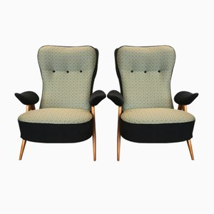 Model 105 Lounge Chairs by Theo Ruth for Artifort, 1950s, Set of 2