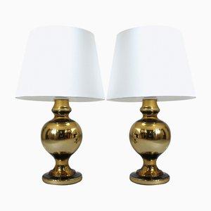 Tischlampen von Uno & Östen Kristiansson für Luxus, 1970er, 2er Set