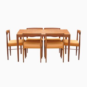 Vintage Danish Dining Set by Henry W. Klein for Bramin, 1960s