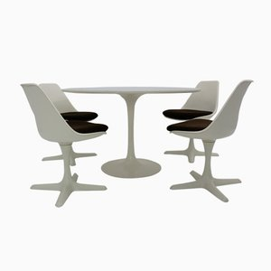 Dining Room Set by Maurice Burke for Arkana, 1960s