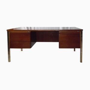 Rosewood & Chrome Desk from Ordo, 1970s