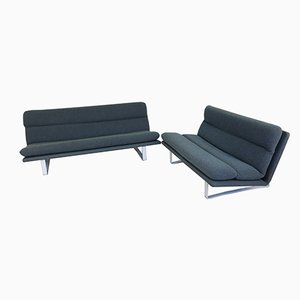 Mid-Century 3-Sitzer & 2 1/2-Sitzer Sofas von Kho Liang Le für Artifort