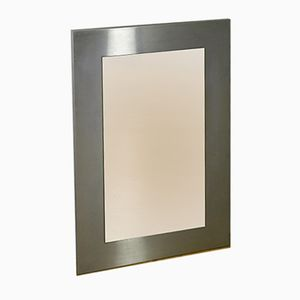 Rectangular Metal Mirror, 1970s