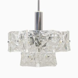 German Two-Tier Ceiling Light from Kinkeldey, 1960s