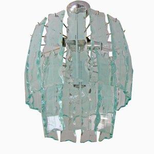 Italian Glass Chandelier, 1965