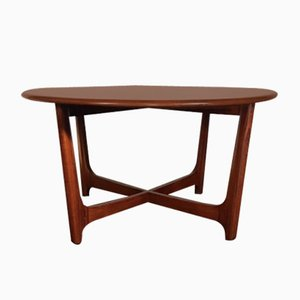 Mid-Century Wychwood Elm Astro Circular Coffee Table from Ercol