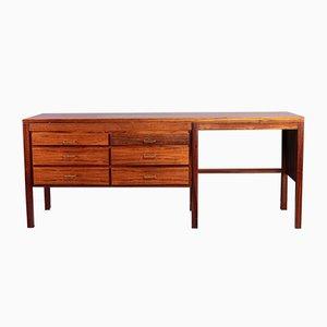 Danish Modern Rosewood Desk, 1960s