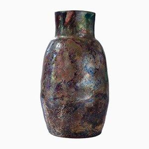 Vase Naked Raku - Water Reduction I par Paolo Spalluto, 2015
