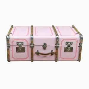 Vintage Pink Trunk