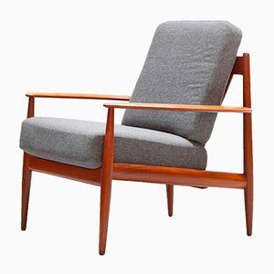 Dänischer Modell 118 Sessel aus Teakholz von Grete Jalk für France & Son, 1960er