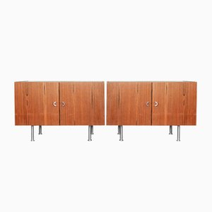 Rosewood Danish Sideboards, 1970s, Set of 2