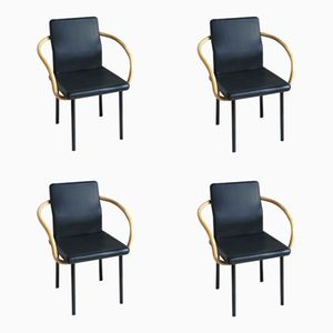 Mandarin Chairs by Ettore Sottsass for Knoll,1980s, Set of 4