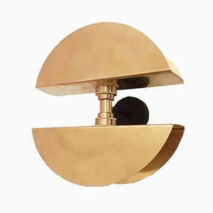 2 Sisters Brass Wall Light by Juanma Lizana