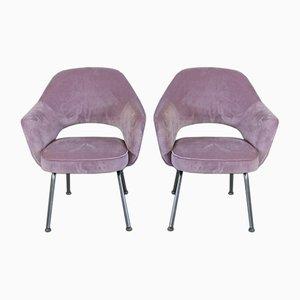 Sessel von Eero Saarinen für Knoll International, 1950er, 2er Set