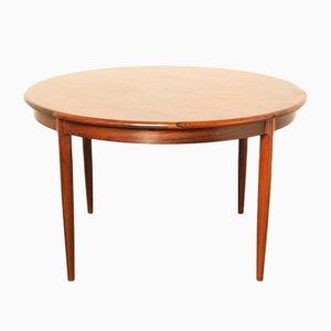 Model 15 Rosewood Dining Table by N.O. Møller for J.L. Møller, 1960s