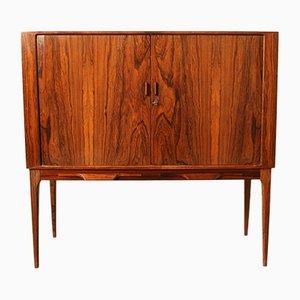 Rosewood Bar Cabinet by Kurt Østervig for KP Møbler, 1960s