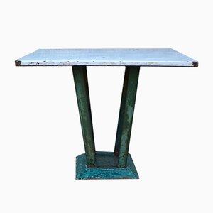 Tavolo da giardino industriale, anni '60