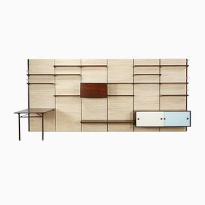 Large Wall Unit by Finn Juhl for Bovirke, 1950s