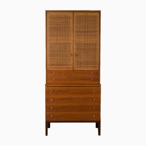 Walnut Veneer Storage Cabinet by Paul McCobb for WK Möbel, 1960s