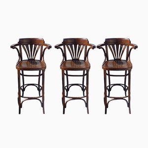 Vintage Barhocker, 3er Set