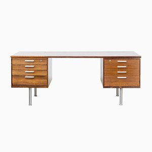 Rosewood Writing Desk by Kai Kristiansen for Feldballes Møbelfabrik, 1960s