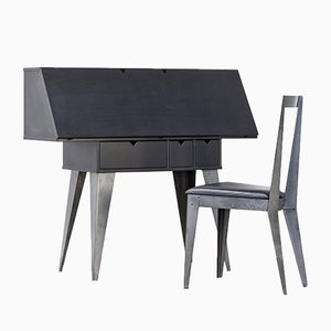 Secretaire and Chair by Tjord Björklund for Ikea, 1990s