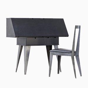 Sekretär und Stuhl von Tjord Björklund für Ikea, 1990er