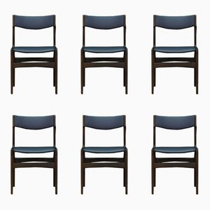 Vintage Dining Chairs, Set of 6