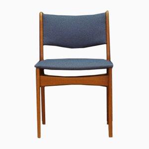 Vintage Teak Furnier Stuhl von Uldum
