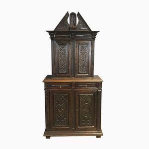19th-Century Cupboard in Oak