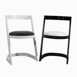 Stühle von Willy Rizzo, 1960er, 2er Set